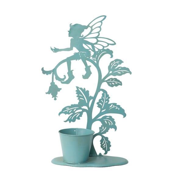 Dekoratívny kvetináč Vasetto, modrý
