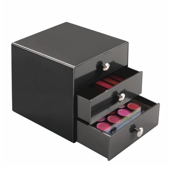 Čierne zásuvky InterDesign