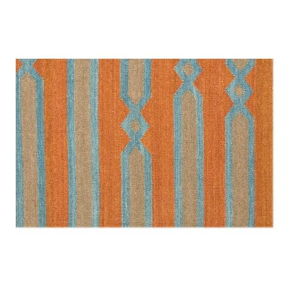 Vlnený koberec Kilim 838, 120x180 cm