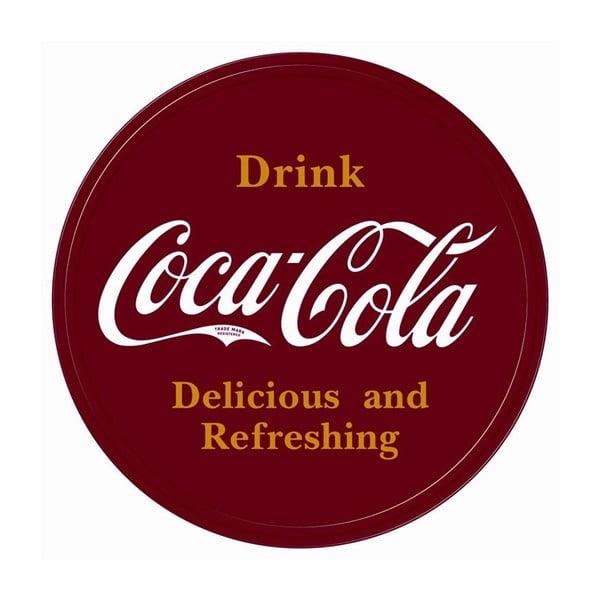 Plechová ceduľa Coca Cola Drink, 30x40 cm