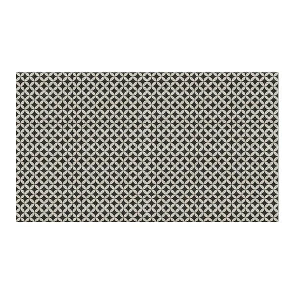 Vinylový koberec Afrah Grey, 52x180 cm