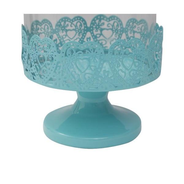 Stojan na torty Dolci 26 cm, modrý
