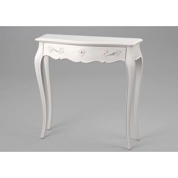 Stôl so zásuvkou Amadeus,  80x25 cm