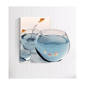 Nástenný 3D obraz Mosticx Rybičky, 40 x 60 cm