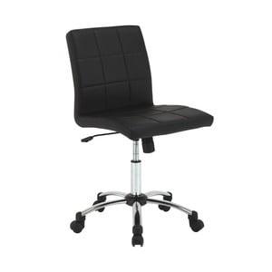 Čierna kancelárska stolička Actona Hot
