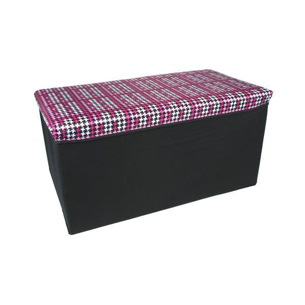 Skladacia úložná krabica Pink Long