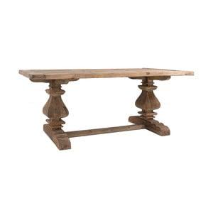 Jedálenský stôl z recyklovaného borovicového dreva VICAL HOME Abo