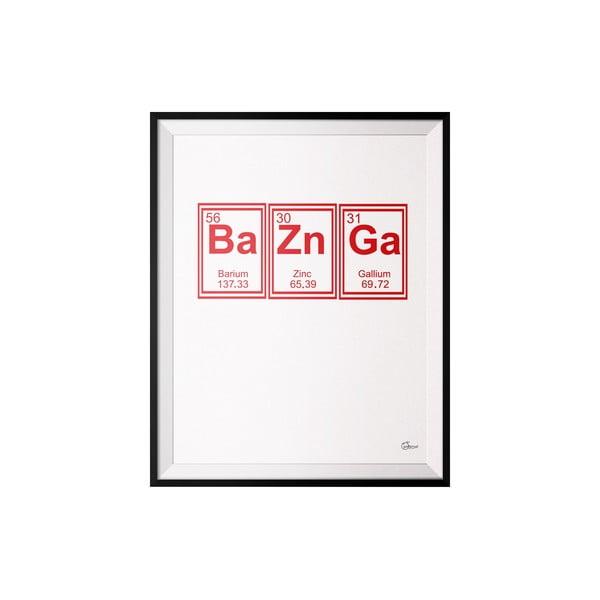 Plagát Bazinga, 40x50 cm
