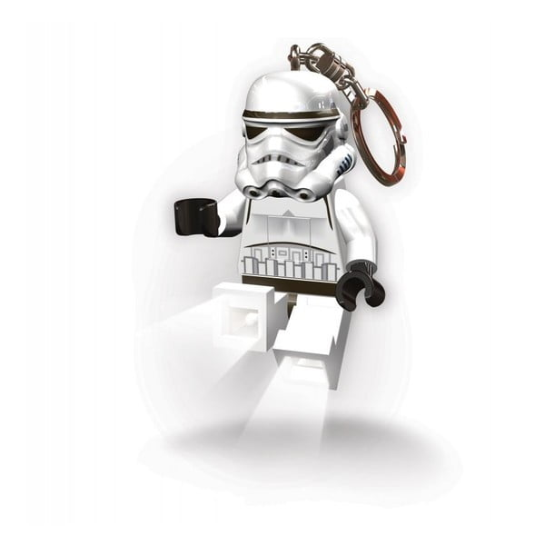 Svietiaca kľúčenka LEGO Stormtrooper