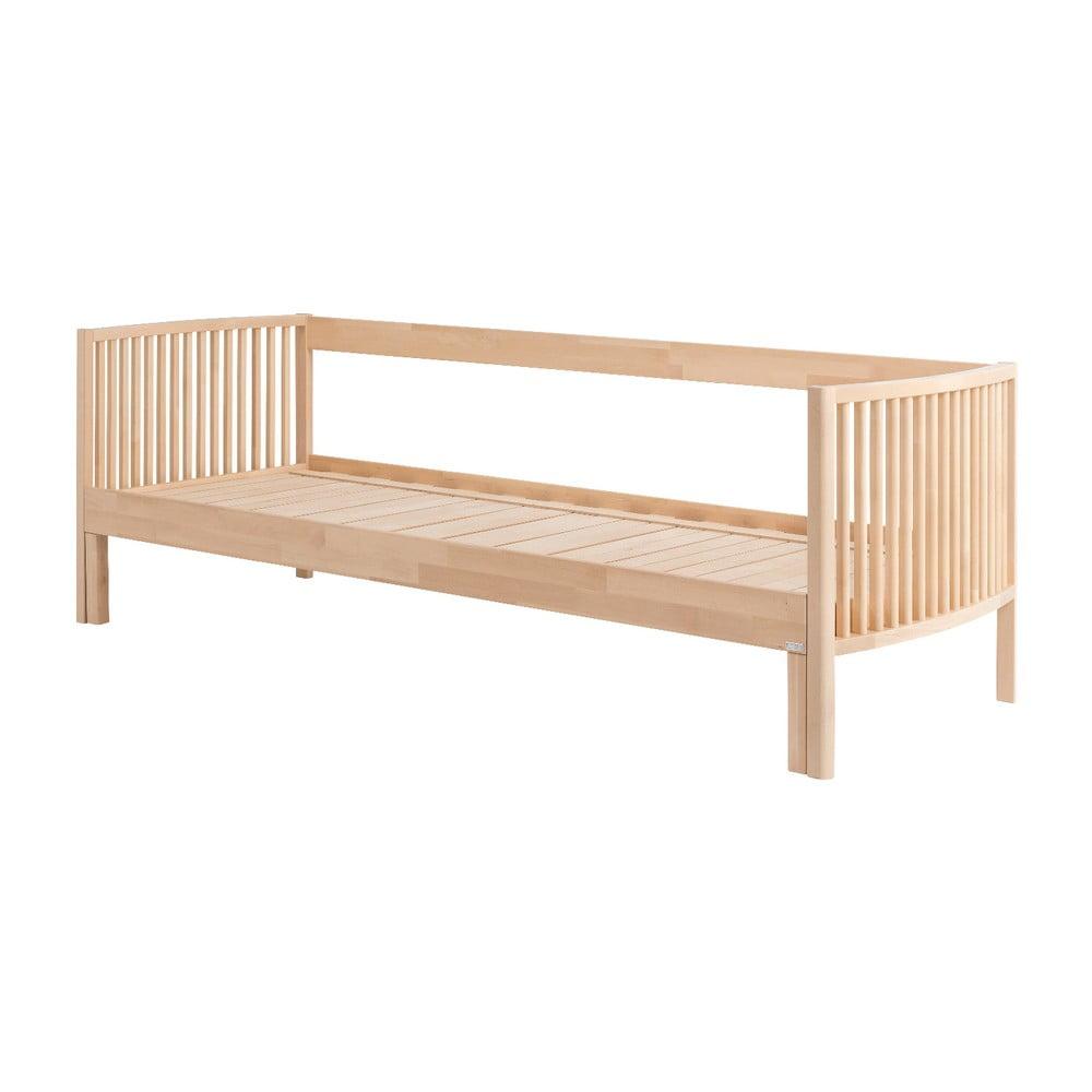 Konštrukcia rozkladacej pohovky z masívneho brezového dreva Kiteen Aarre, šírka 200 cm