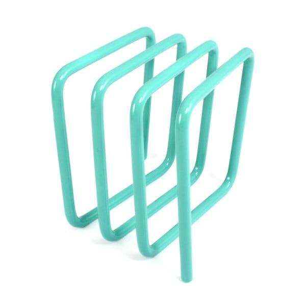 Modrý stojan na listy Letter Rack