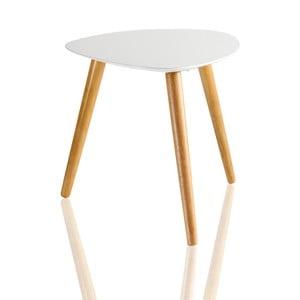 Biely príručný stolík Brandani Plectrum