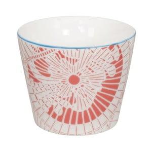 Červeno-biely porcelánový hrnček Tokyo Design Studio Shiki, 180ml