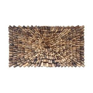 Nástenná dekorácia z teakového dreva House Nordic Woody