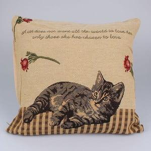 Obliečka na vankúš Dakls Lenivá mačka