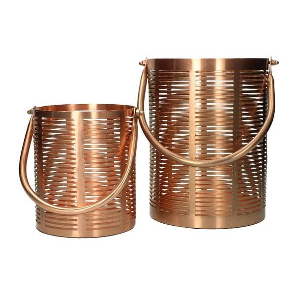 Set 2 lampášov Iron Copper