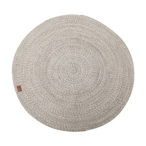 Béžový koberec Hawke&Thorn Parker, Ø 130cm
