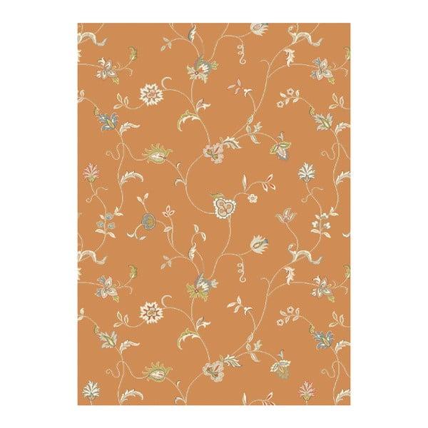 Koberec Asiatic Carpets Xico Floral Rust, 120x170 cm