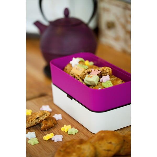 Fialový obedový box Monbento