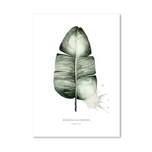 Plagát Leo La Douce Banana Leaf, 29,7 x 42cm