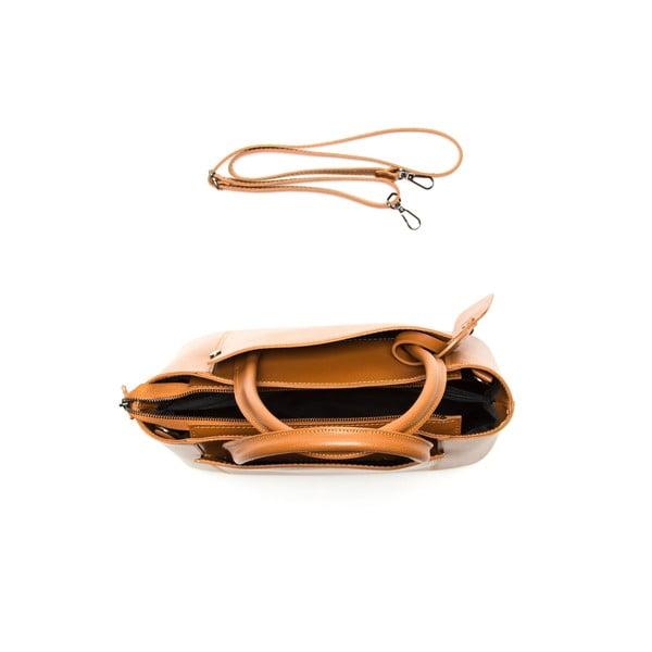 Hnedá kožená kabelka Sofia Cardoni Irene