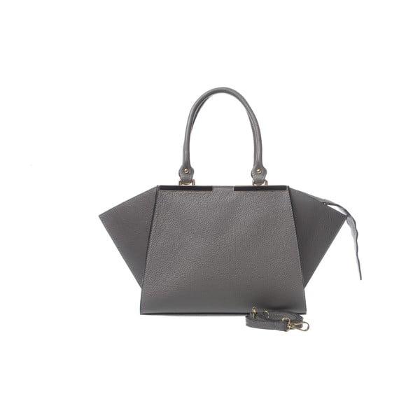 Kožená kabelka Fashion Leather Grey