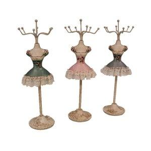 Set 3 stojanov na šperky Antic Line Mannequin