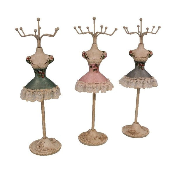 Set 3 stojanov na šperky Mannequin