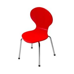Detská červená stolička DAN-FORM Denmark Child