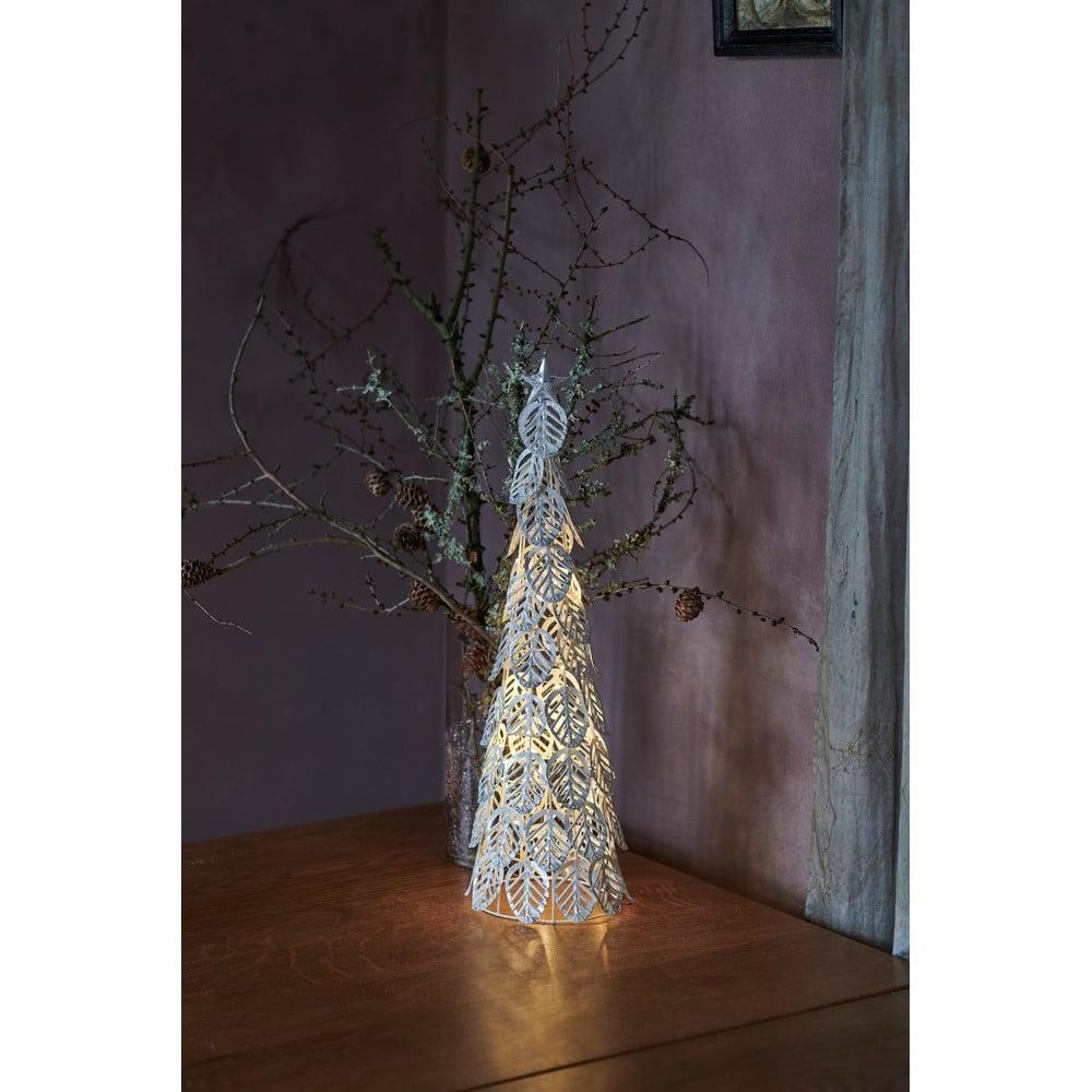 Svetelná LED dekorácia Sirius Kirstine Silver, výška 53,5 cm