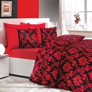 Obliečky na manželskú posteľ Avangarde Red, 200x220 cm
