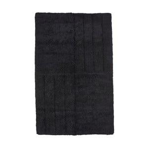 Čierna kúpeľňová predložka Zone Classic, 50x80cm