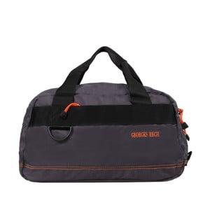Sivá taška s oranžovými detailmi Blue Star Edimbourg, 17 l