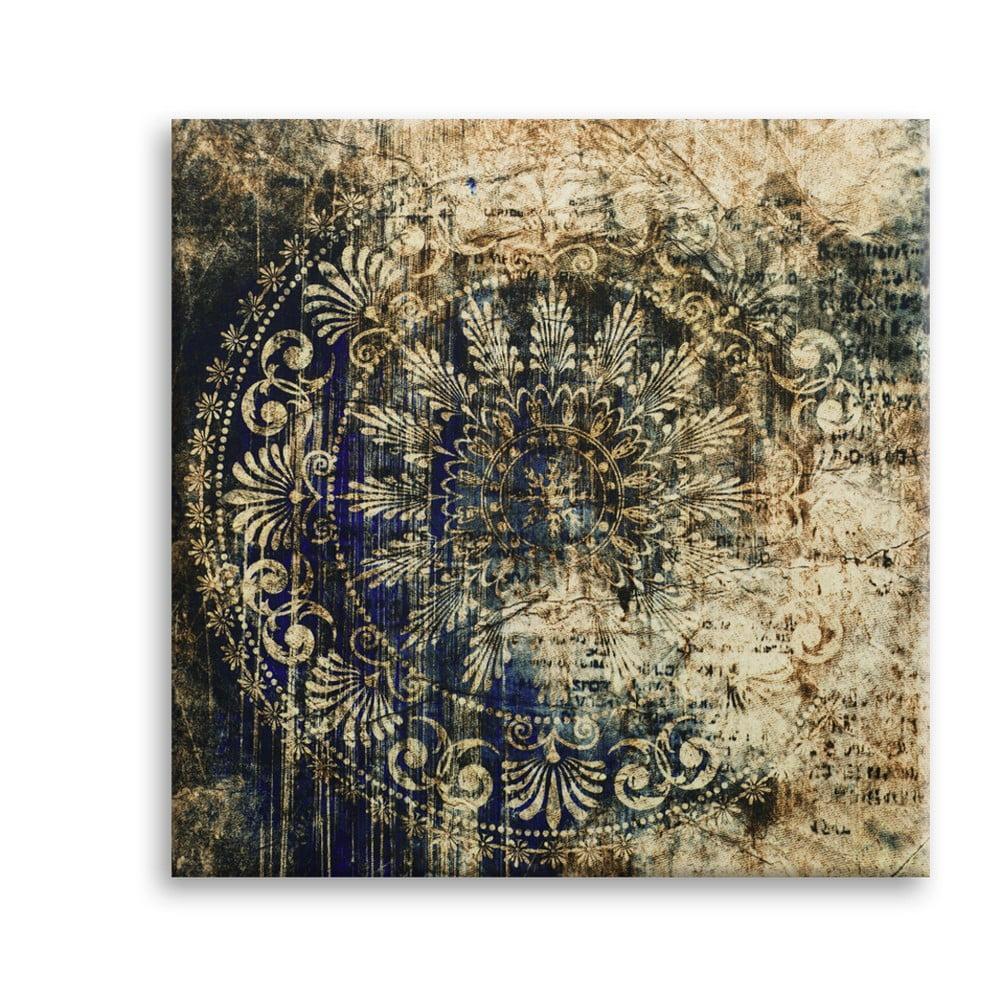 Obraz Styler Canvas Silver Uno Zambino, 65 × 65 cm