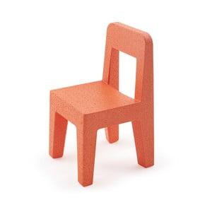 Detská oranžová stolička Magis soggiolina Pop