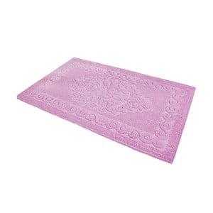 Predložka do kúpeľne Damask Pink, 60x100 cm
