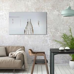 Obraz na plátne OrangeWallz Mistery Lake, 70 x 118 cm