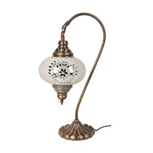 Sklenená lampa Fishing IV, 17 cm