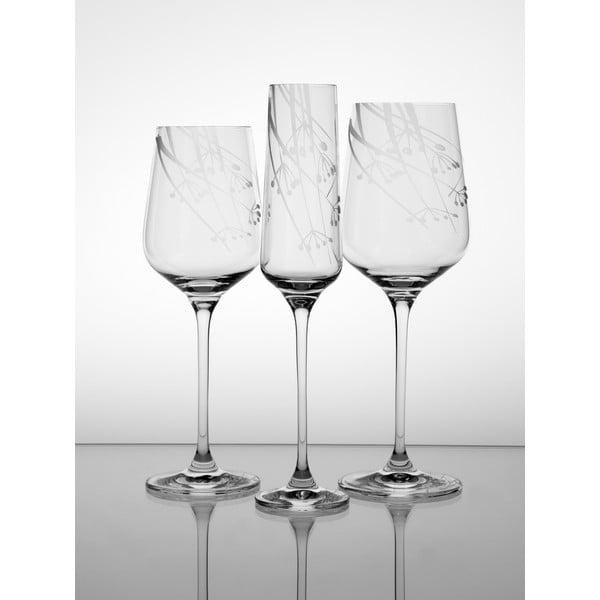 Ateliér Žampach, set 2 ks pohárov na červené víno Rasca
