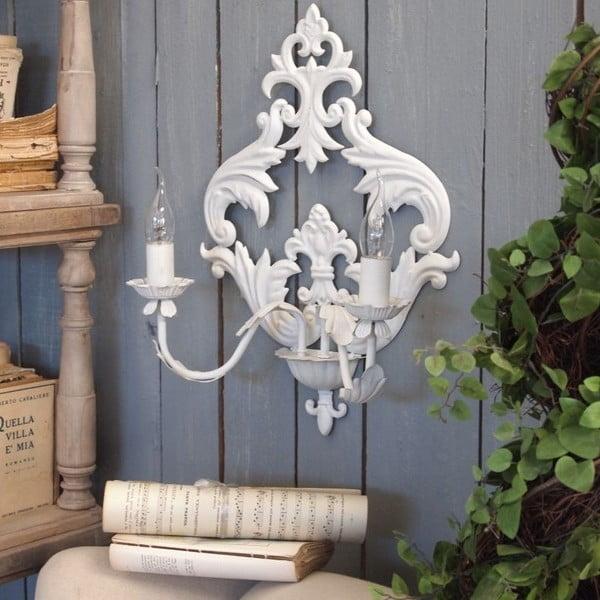 Nástenné svetlo Orchidea Milano Aplique White Duo