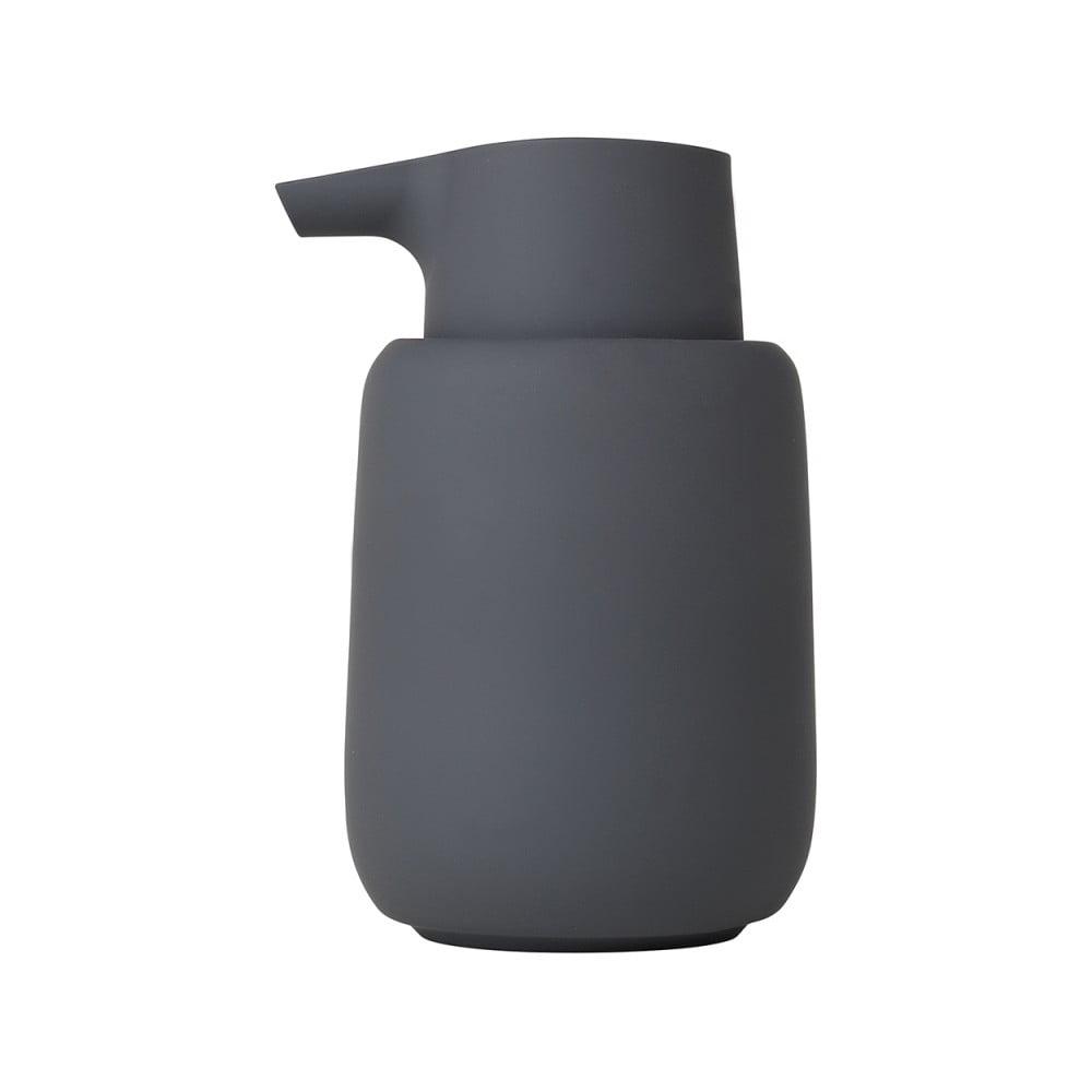 Čierny dávkovač na mydlo Blomus Sono