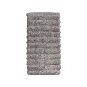Sivý bavlnený uterák Zone Prime, 50 × 100 cm