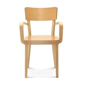 Svetlá drevená stolička Fameg Lone