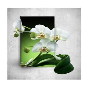 Nástenný 3D obraz Mosticx Pure Elegant Flower, 40×60 cm