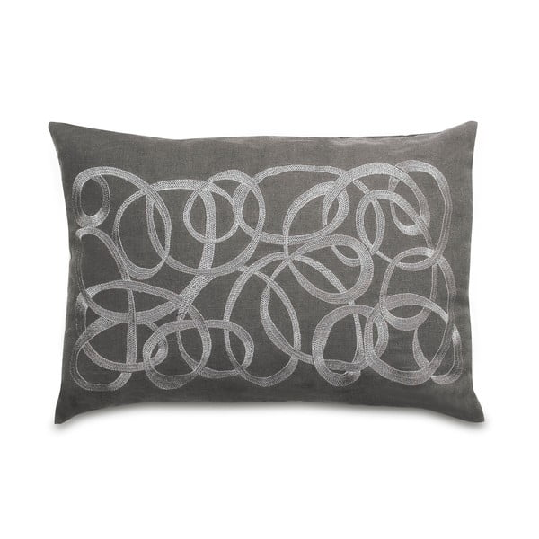 Vankúš Waves Grey, 35x50 cm