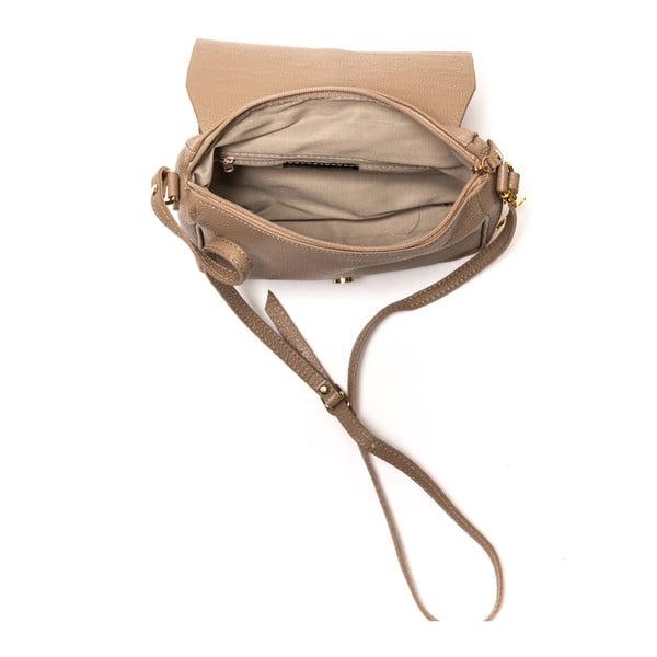 Kožená kabelka Italia 1100, svetlohnedá
