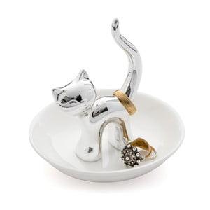Stojanček na prstienky Kočka