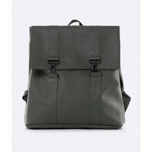 Zelený batoh s vysokou vodoodolnosťou Rains MSN Backpack