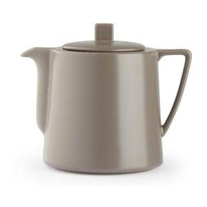 Sivohnedá kanvica so sitkom na sypaný čaj Bredemeijer Lund, 1,5 l
