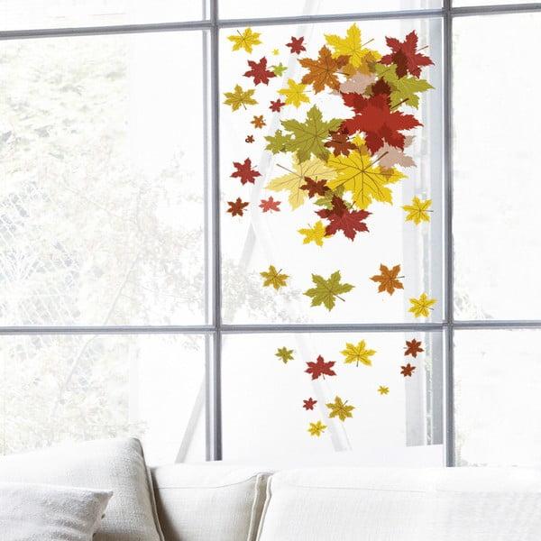Samolepka na okno Autumn Leaves